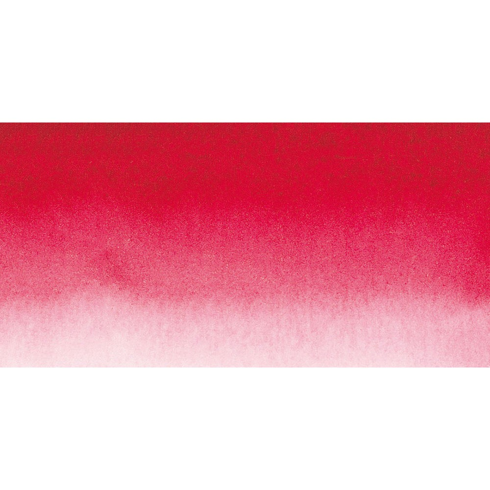 Sennelier : Watercolour Paint : Half Pan : Quinacridone Red
