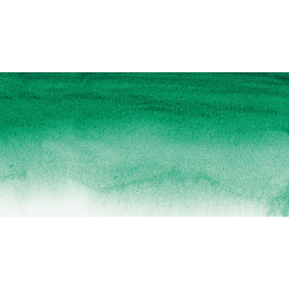 Sennelier : Watercolour Paint : Half Pan : Viridian Green