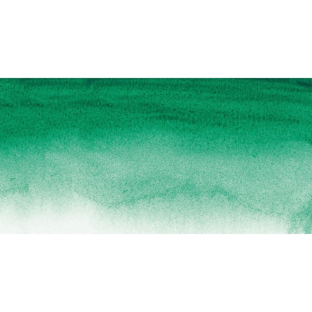 Sennelier : Watercolour Paint : Half Pan : Viridian Green