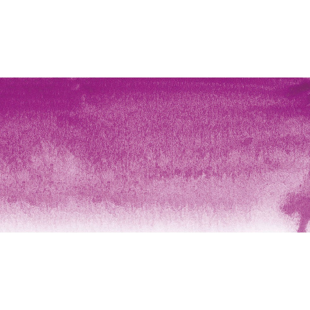 Sennelier : Watercolour Paint : Half Pan : Red Violet