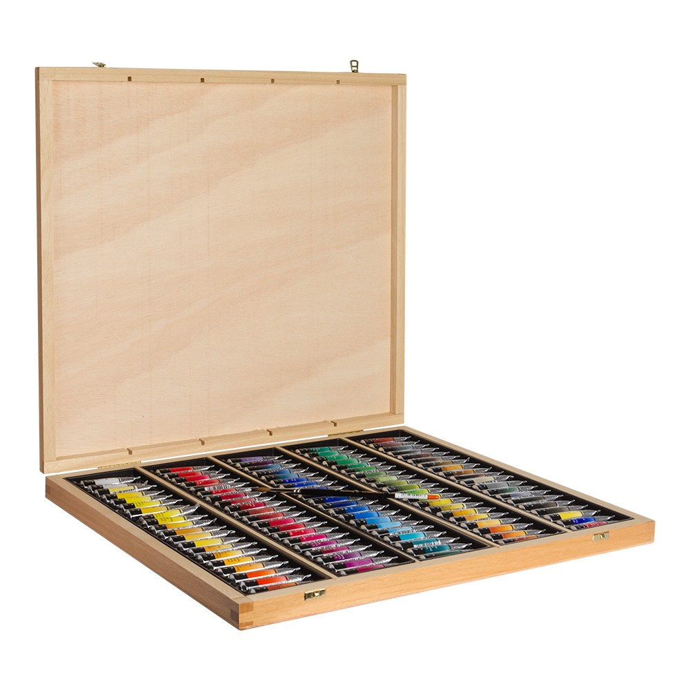 Sennelier : Watercolour : Wooden Box Set of 98 x 10ml Tubes