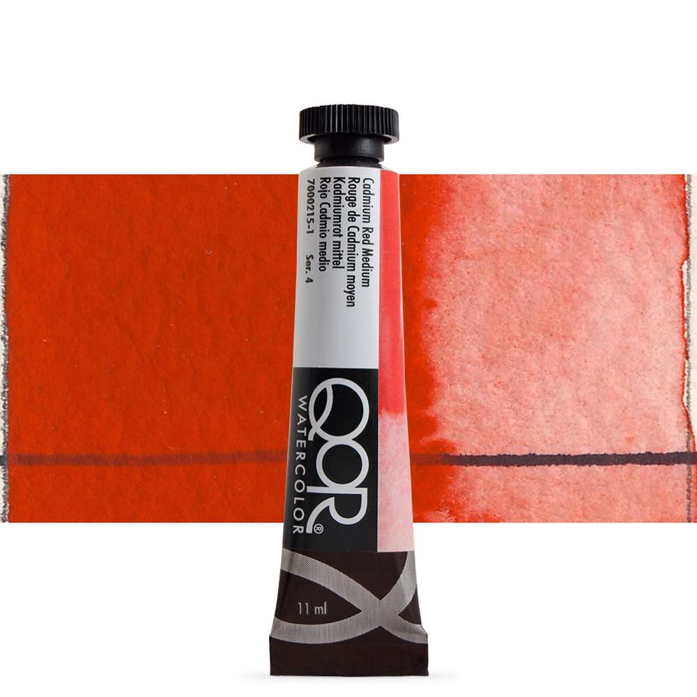 Golden QoR : Watercolour Paint : 11ml : Cadmium Red Medium