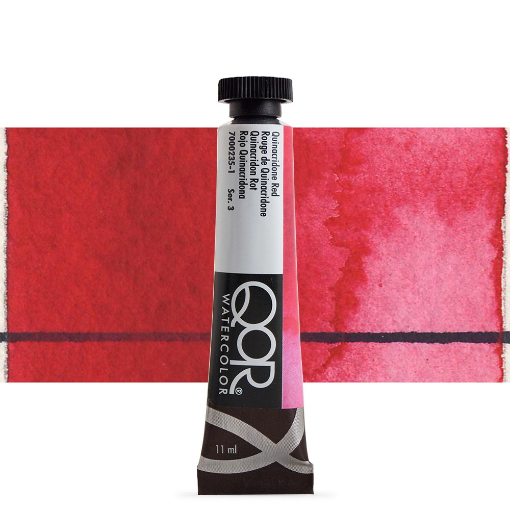 Golden QoR : Watercolour Paint : 11ml : Quinacridone Red