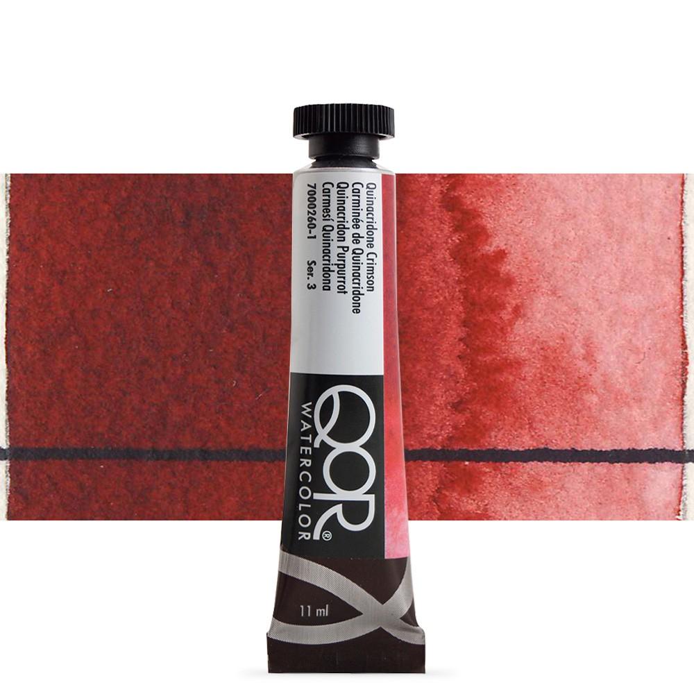 Golden QoR : Watercolour Paint : 11ml : Quinacridone Crimson