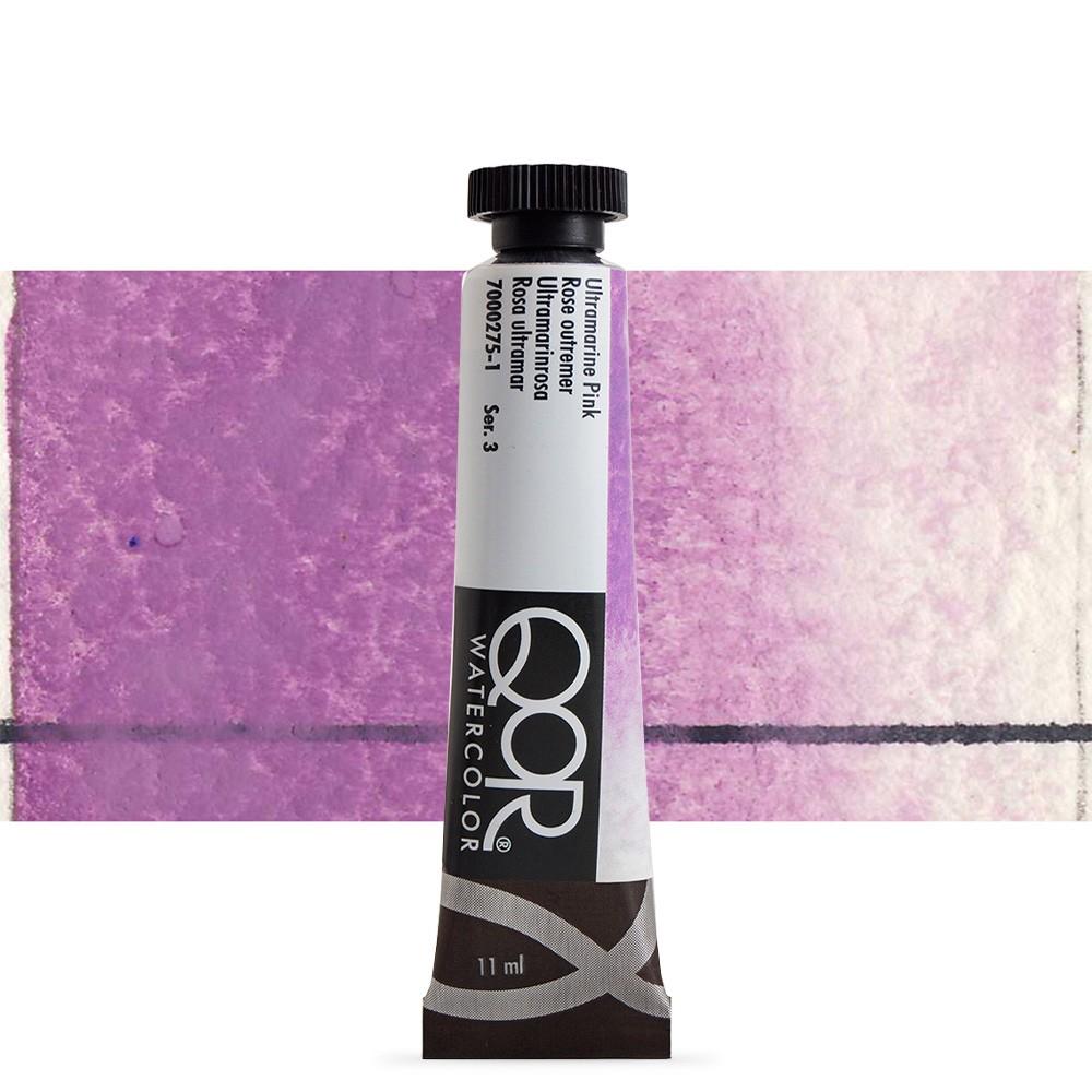 Golden : Qor : Watercolour Paint : 11ml : Ultramarine Pink