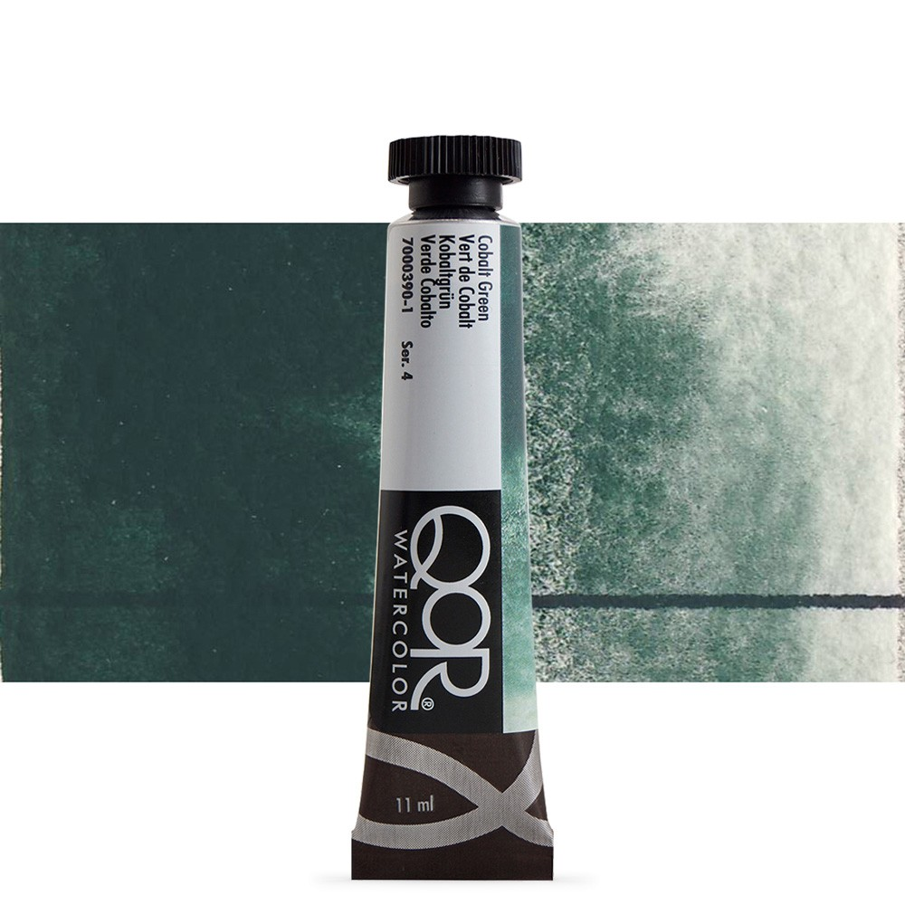 Golden QoR : Watercolour Paint : 11ml : Cobalt Green