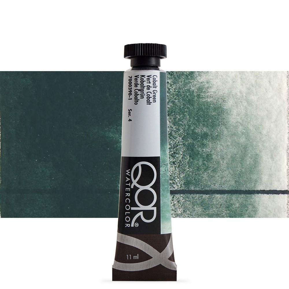Golden : Qor : Watercolour Paint : 11ml : Cobalt Green