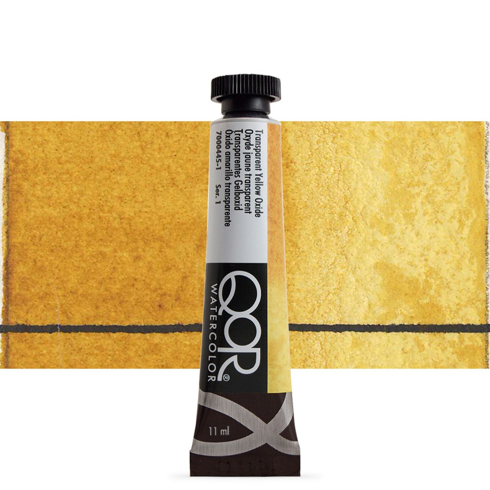 Golden QoR : Watercolour Paint : 11ml : Transparent Yellow Oxide