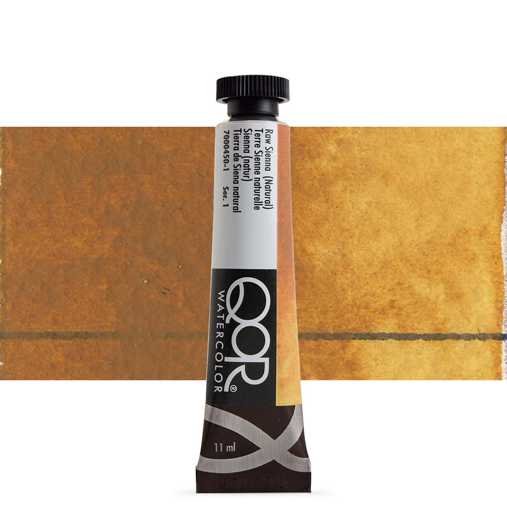 Golden QoR : Watercolour Paint : 11ml : Raw Sienna Natural