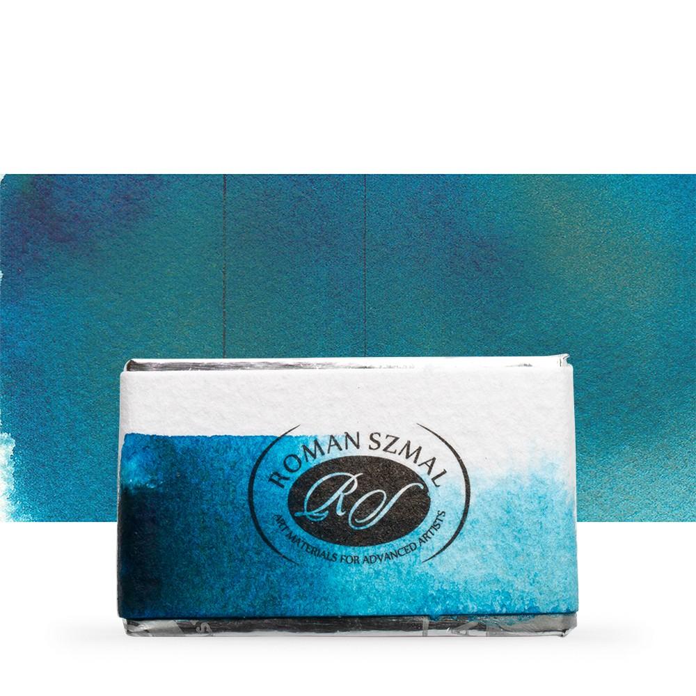 Roman Szmal : Aquarius : Watercolour Paint : Full Pan : Ocean Blue