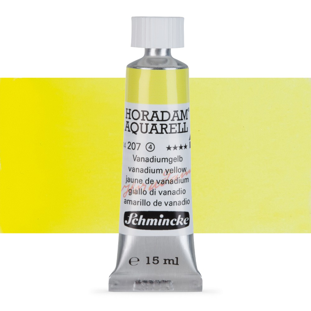 Schmincke : Horadam Watercolour Paint : 15ml : Vanadian Yellow