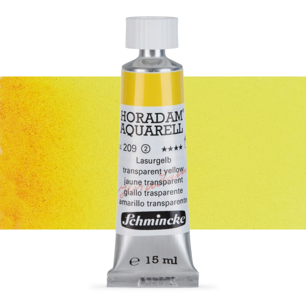 Schmincke : Horadam Watercolour : 15ml : Transparent Yellow (Translucent Yellow)
