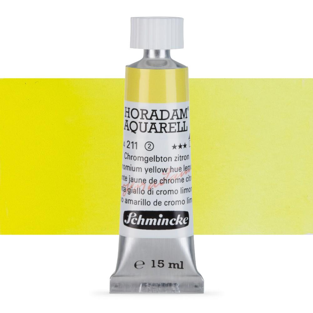 Schmincke : Horadam Watercolour : 15ml : Chromium Yellow Hue Lemon (Chrome Yellow Lemon)