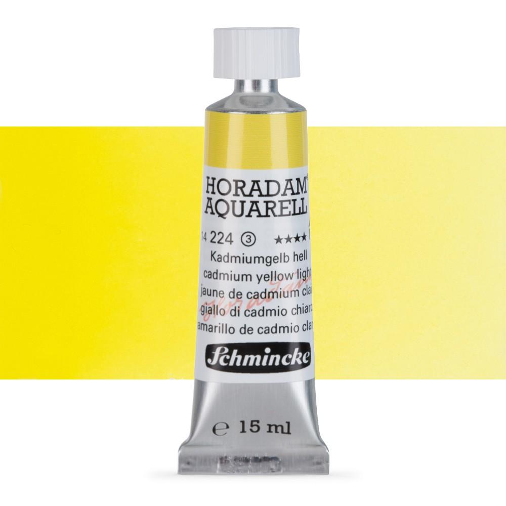 Schmincke : Horadam Watercolour Paint : 15ml : Cadmium Yellow Light
