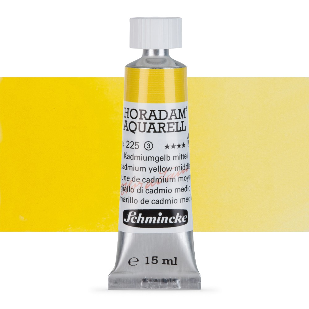 Schmincke : Horadam Watercolour : 15ml : Cadmium Yellow Medium