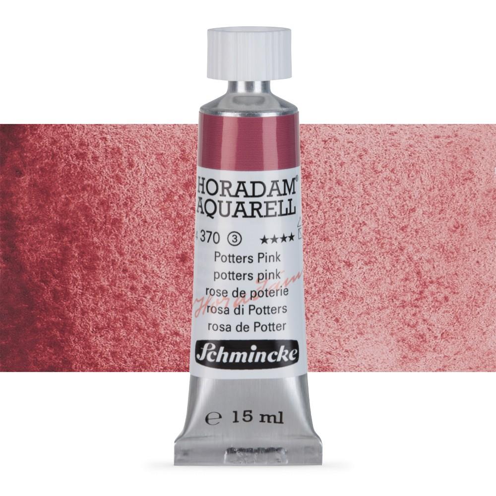 Schmincke : Horadam Watercolour Paint : 15ml : Potters Pink