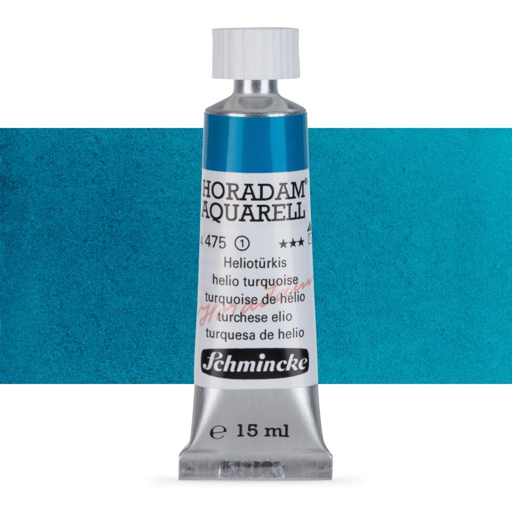 Schmincke : Horadam Watercolour Paint : 15ml : Helio Turquoise