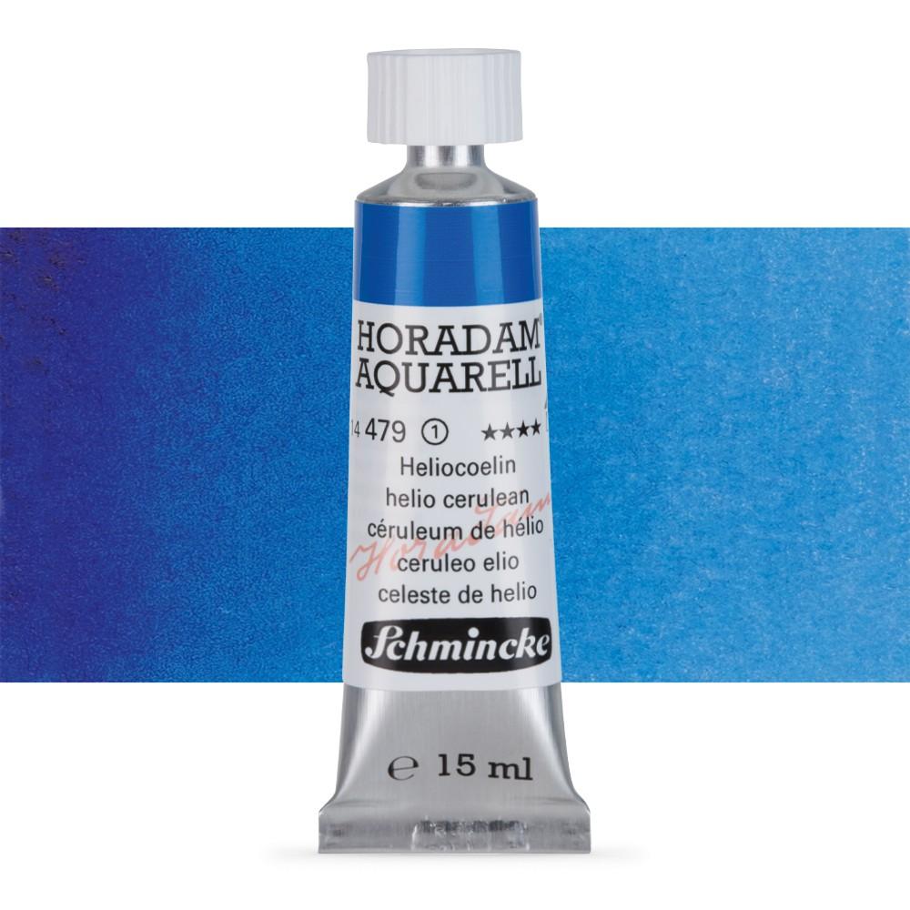 Schmincke : Horadam Watercolour Paint : 15ml : Phthalo Sapphire Blue