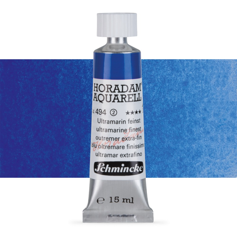 Schmincke : Horadam Watercolour Paint : 15ml : Ultramarine Finest