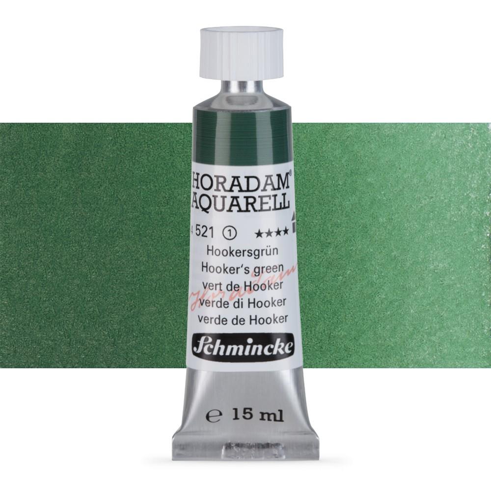 Schmincke : Horadam Watercolour Paint : 15ml : Hookers Green