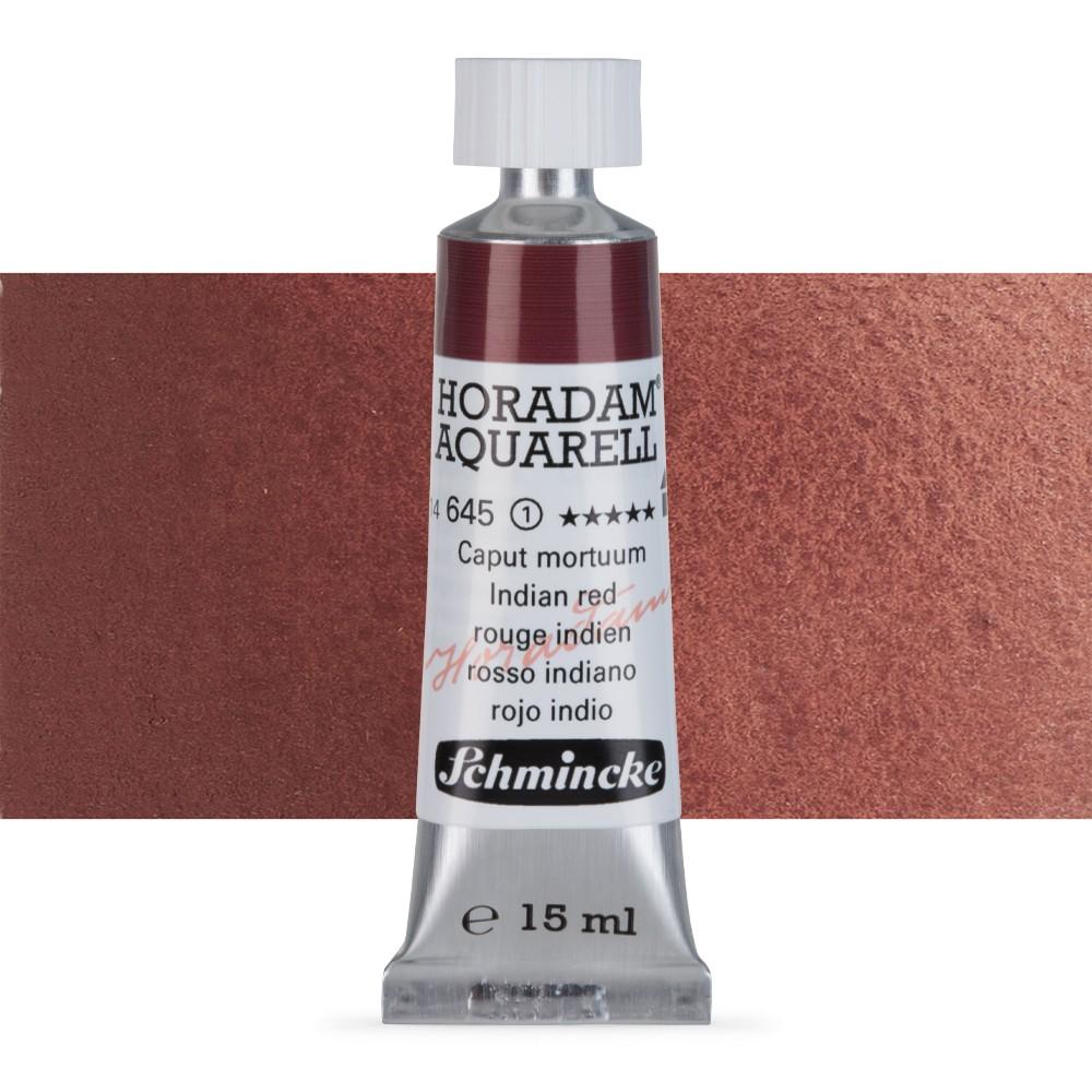 Schmincke : Horadam Watercolour Paint : 15ml : Indian Red