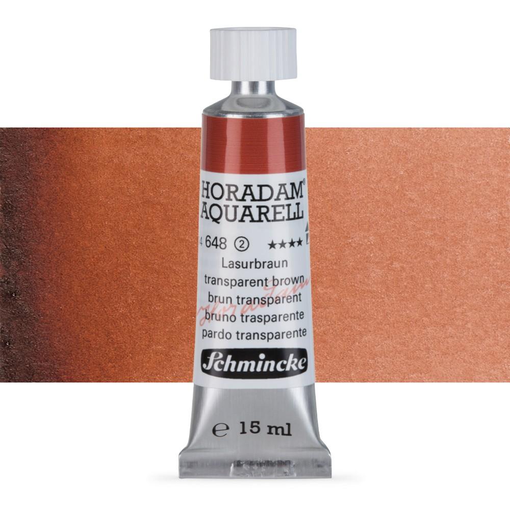 Schmincke : Horadam Watercolour : 15ml : Transparent Brown (Translucent Brown)