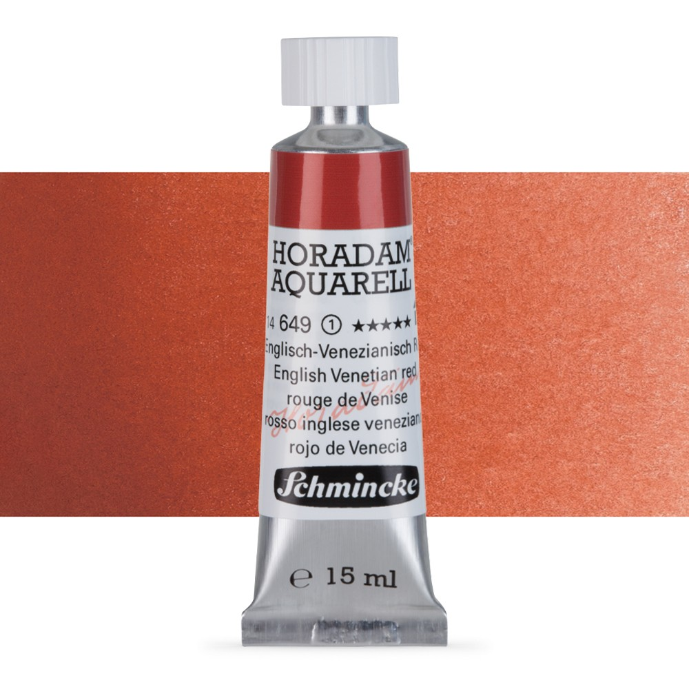 Schmincke : Horadam Watercolour Paint : 15ml : English Venetian Red