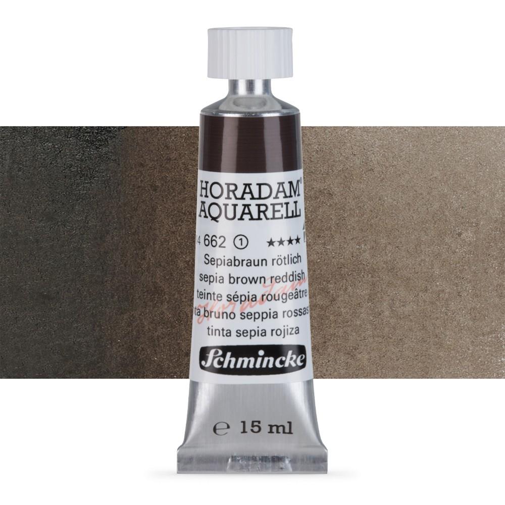 Schmincke : Horadam Watercolour : 15ml : Sepia Brown Reddish (Sepia Brown Tone)