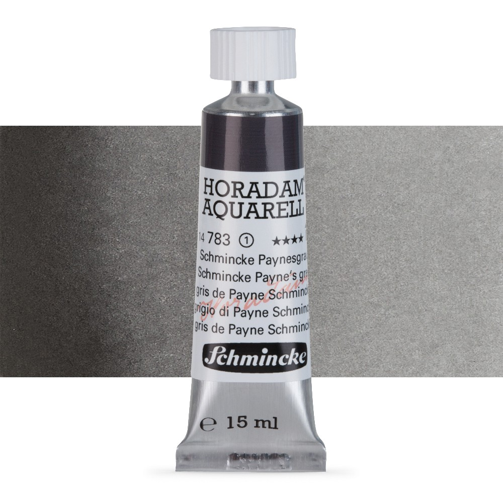 Schmincke : Horadam Watercolour Paint : 15ml : Schmincke Paynes Grey