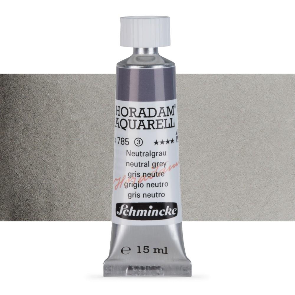 Schmincke : Horadam Watercolour Paint : 15ml : Neutral Grey