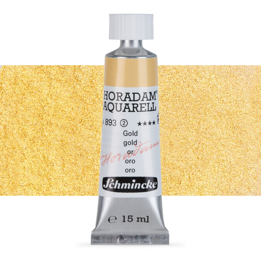 Schmincke : Horadam Watercolour Paint : 15ml : Gold