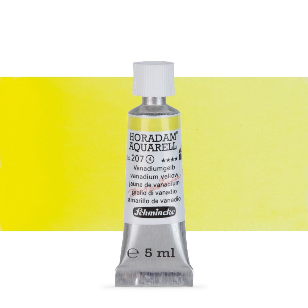 Schmincke : Horadam Watercolour Paint : 5ml : Vanadian Yellow