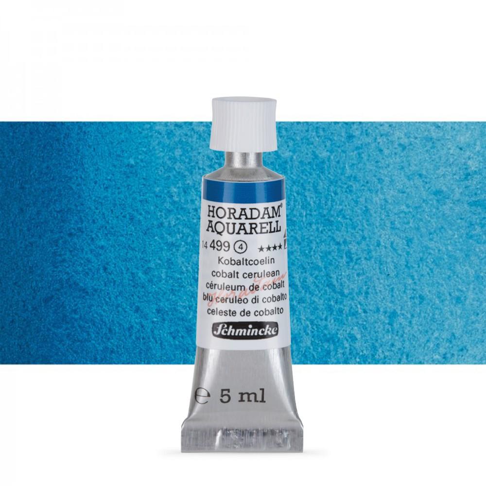 Schmincke : Horadam Watercolour Paint : 5ml : Cobalt Cerulean