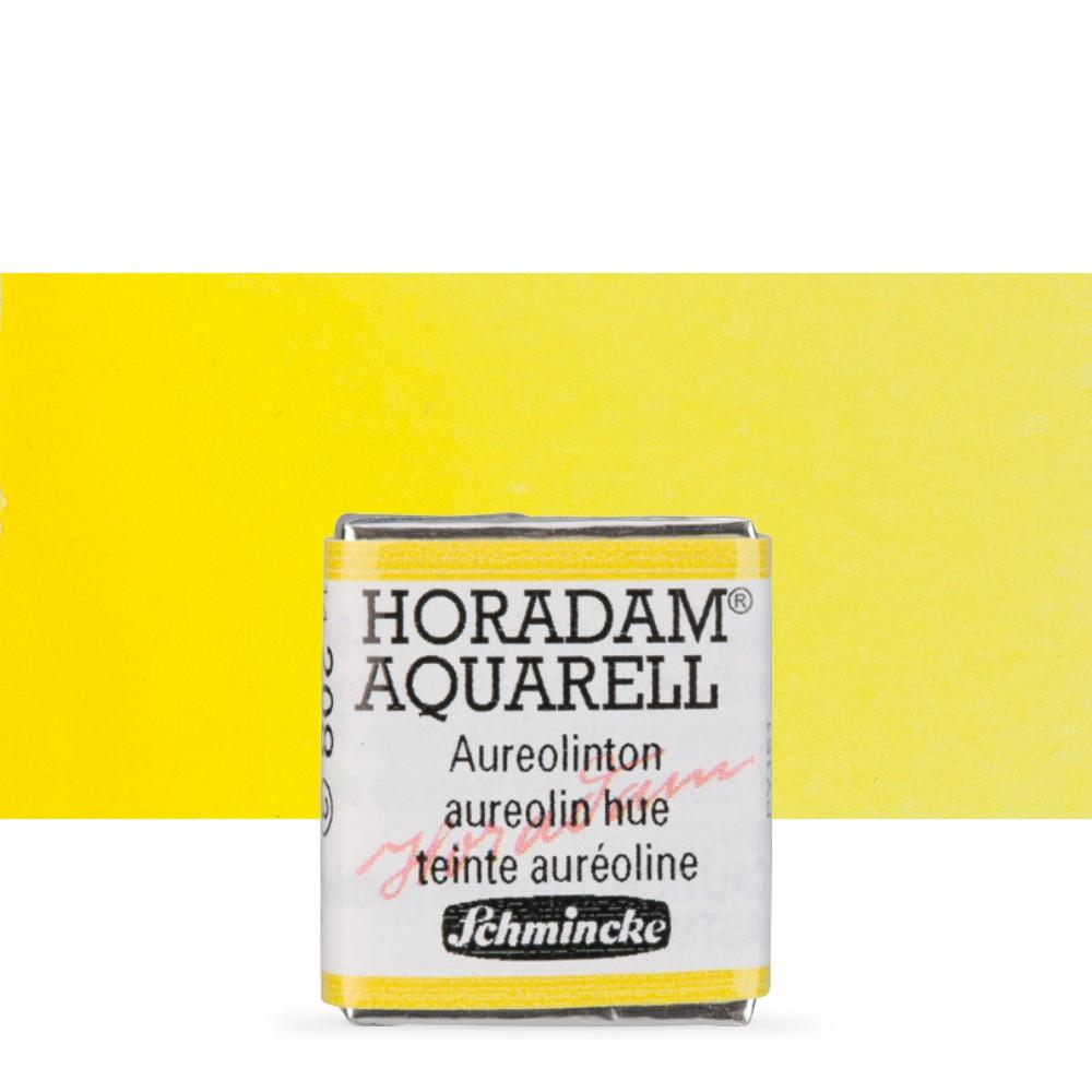 Schmincke : Horadam Watercolour : Half Pan : Aureolin Hue (Aureolin Modern)