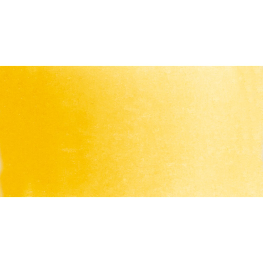 Schmincke : Horadam Watercolour Paint : Half Pan : Chrome Yellow Deep