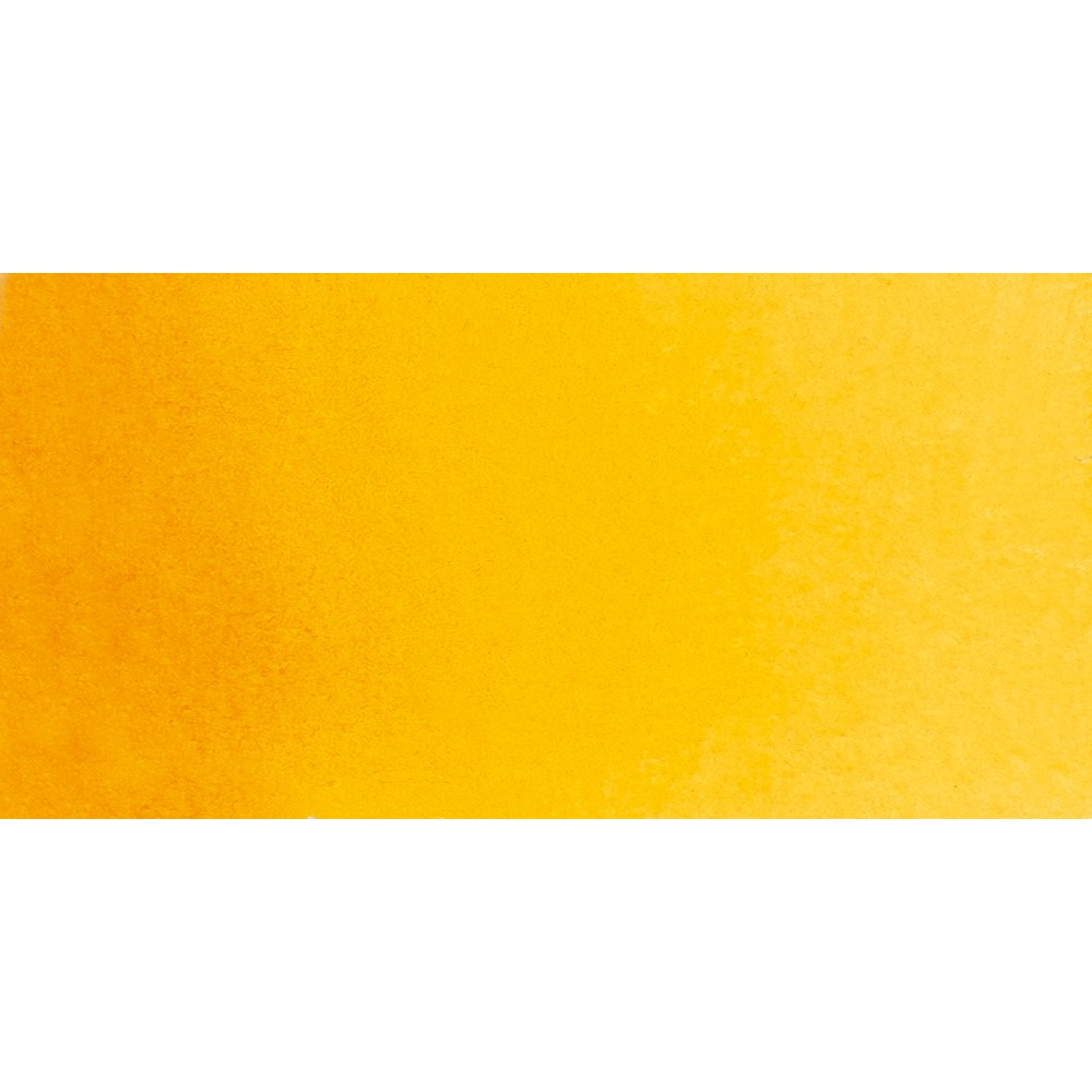 Schmincke : Horadam Watercolour Paint : Half Pan : Indian Yellow