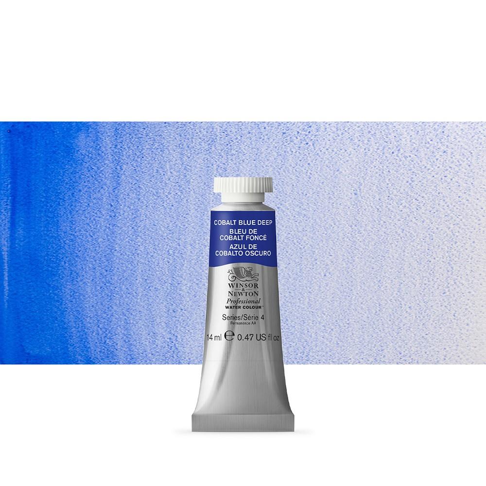 Winsor & Newton : Professional Watercolour Paint : 14ml : Cobalt Blue Deep