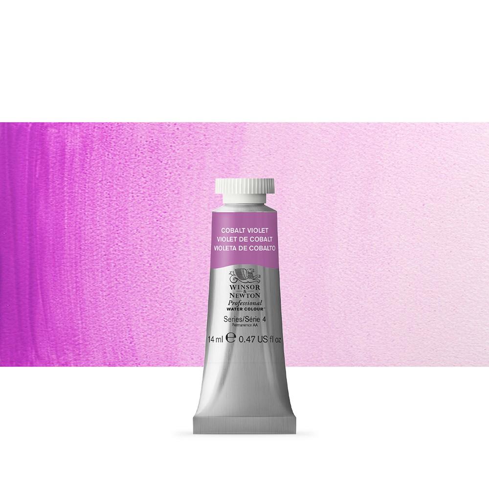 Winsor & Newton : Professional Watercolour Paint : 14ml : Cobalt Violet