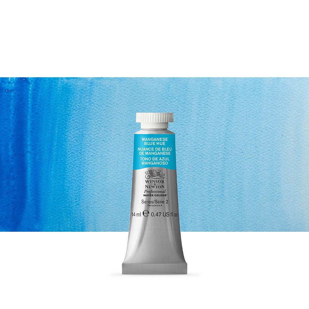 Winsor & Newton : Professional Watercolour Paint : 14ml : Manganese Blue Hue