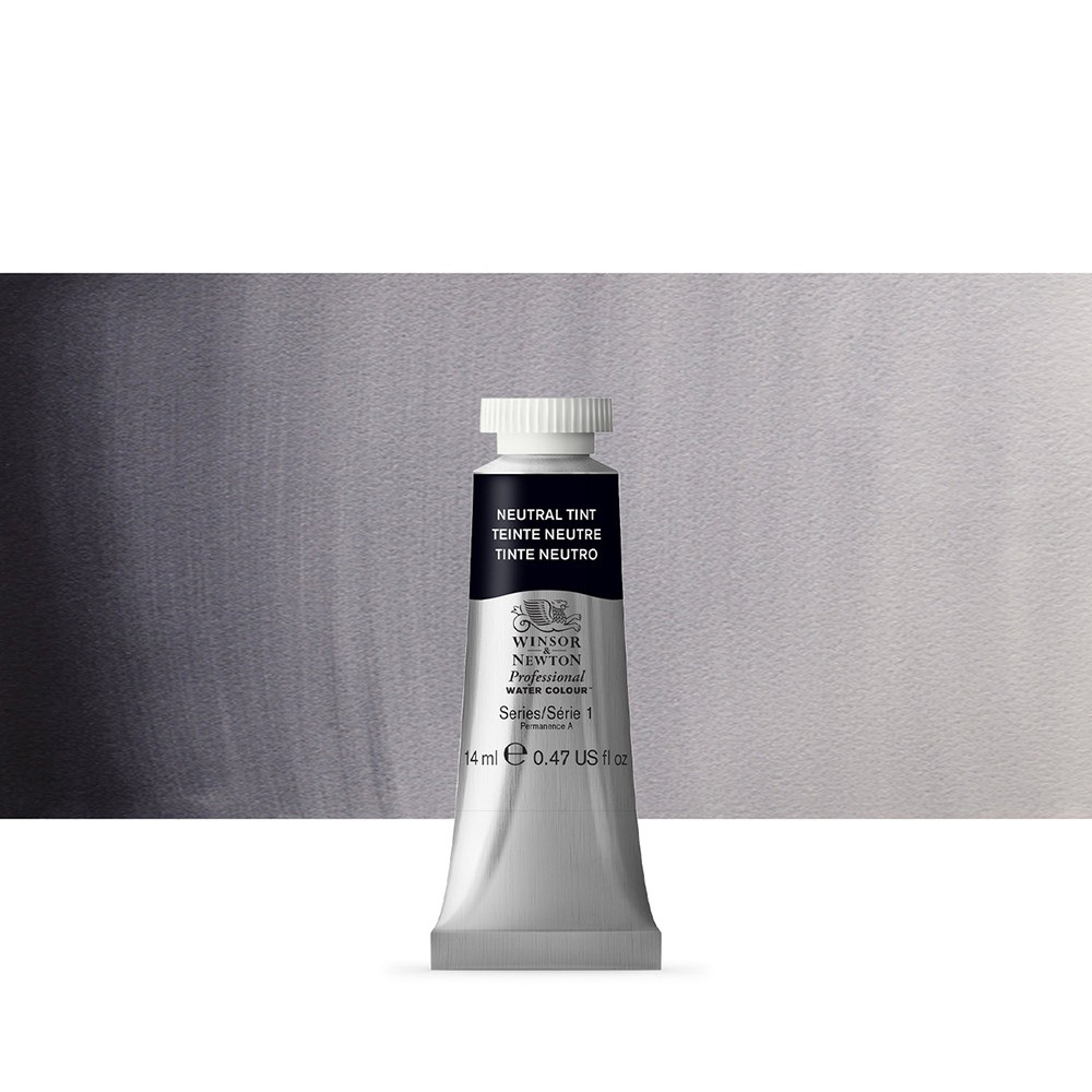 Winsor & Newton : Professional Watercolour Paint : 14ml : Neutral Tint