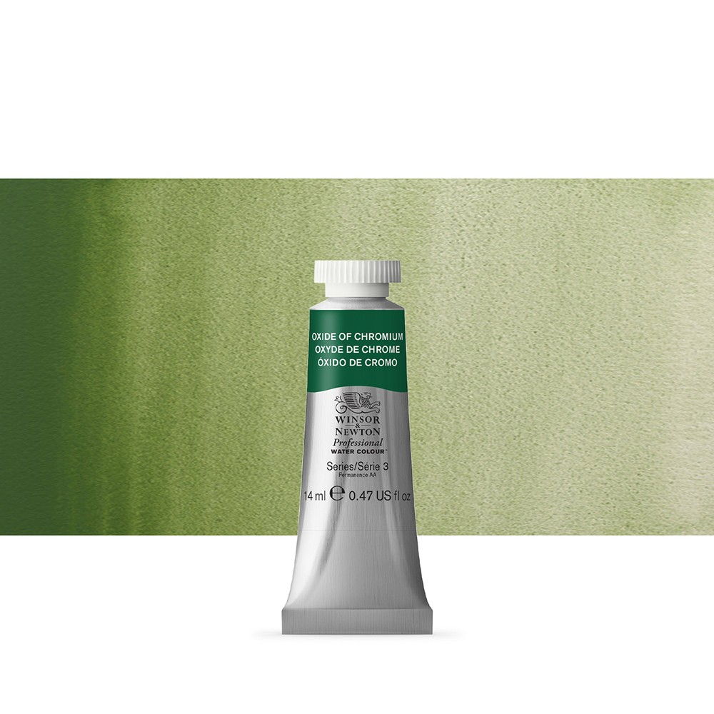 Winsor & Newton : Professional Watercolour Paint : 14ml : Oxide Of Chromium