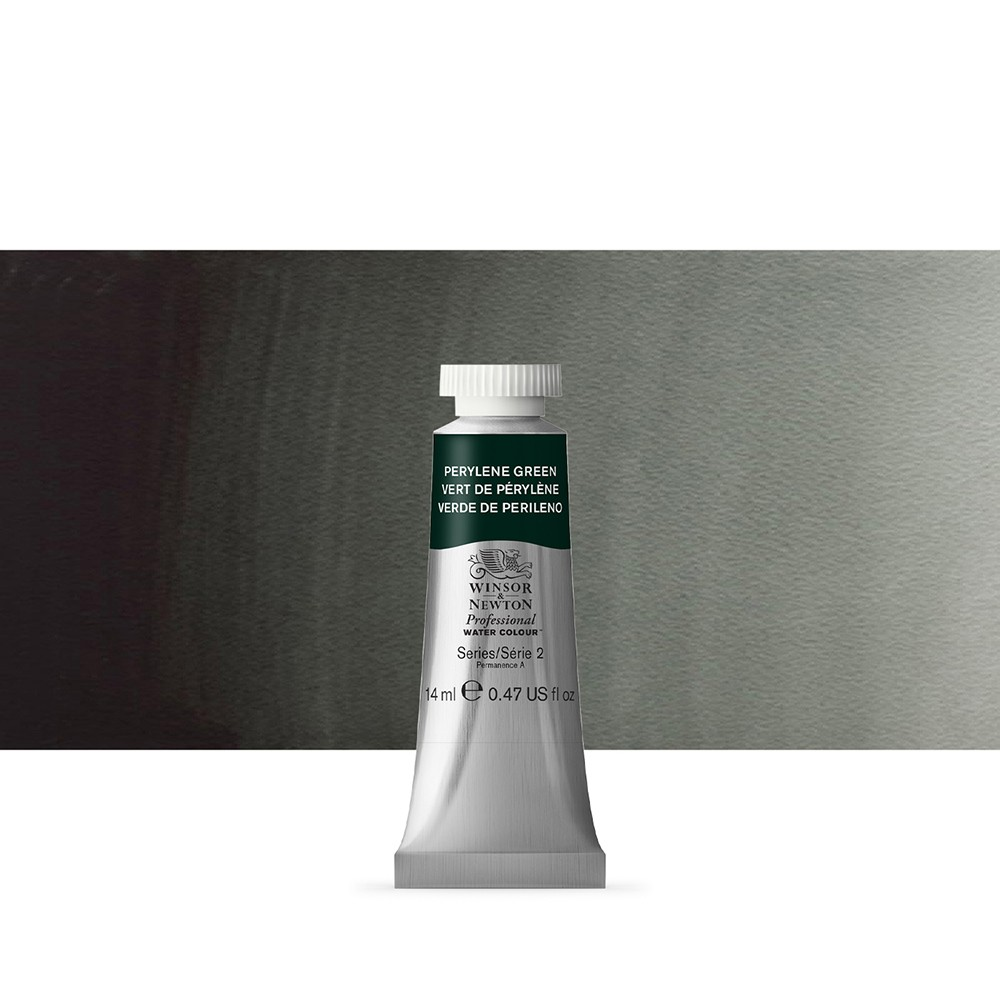 Winsor & Newton : Professional Watercolour Paint : 14ml : Perylene Green