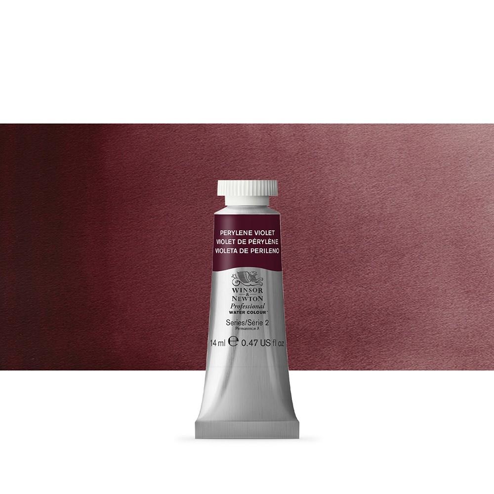 Winsor & Newton : Professional Watercolour Paint : 14ml : Perylene Violet