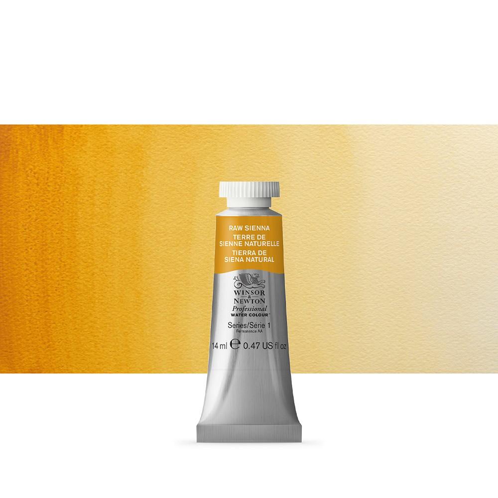 Winsor & Newton : Professional Watercolour Paint : 14ml : Raw Sienna
