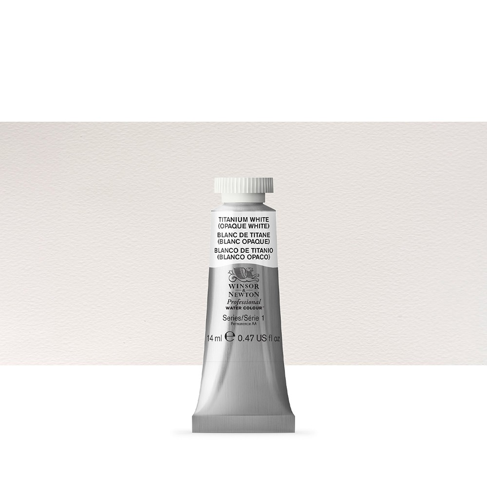 Winsor & Newton : Professional Watercolour : 14ml : Titanium White
