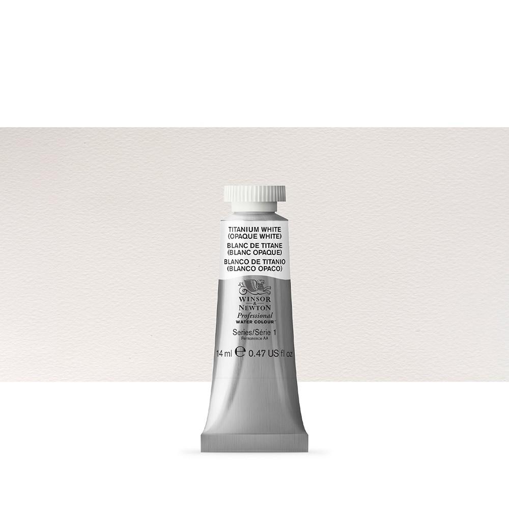 Winsor & Newton : Professional Watercolour Paint : 14ml : Titanium White
