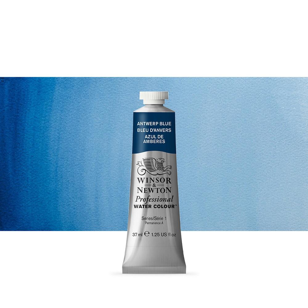 Winsor & Newton : Professional Watercolour Paint : 37ml : Antwerp Blue