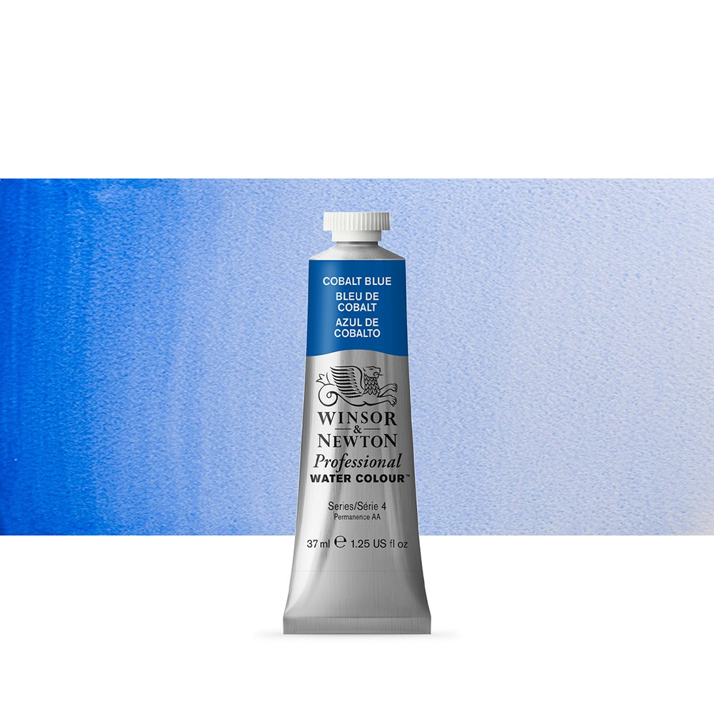 Winsor & Newton : Professional Watercolour Paint : 37ml : Cobalt Blue