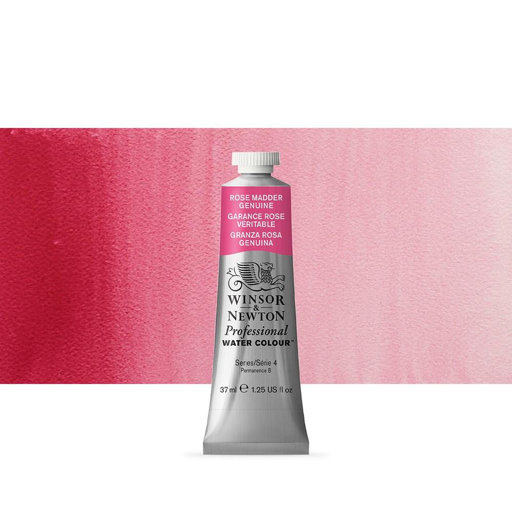 Winsor & Newton : Professional Watercolour Paint : 37ml : Rose Madder Genuine
