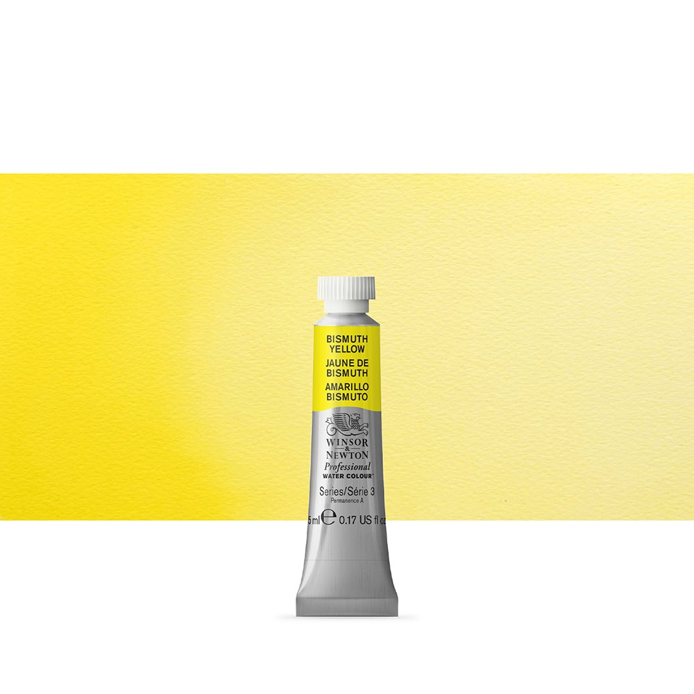Winsor & Newton : Professional Watercolour Paint : 5ml : Bismuth Yellow